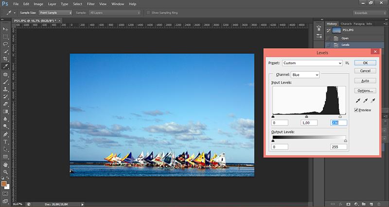 Tutorial no photoshop para melhorar levels e luminosidade