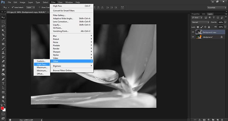 Melhorando Melhorando a nitidez da sua imagem no Photoshop - High Pass
