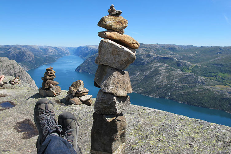The spirit of discovery de Alex Berger - Preikestolen, Noruega