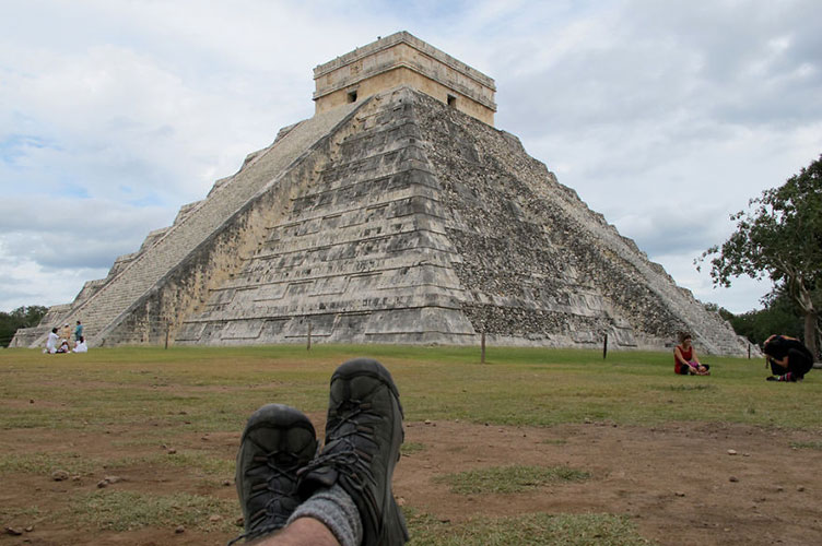 The spirit of discovery de Alex Berger -  Chichen Itza, México