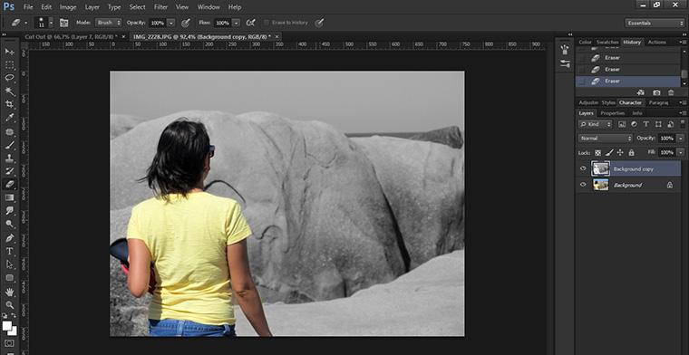 Como fazer o efeito Cut Out no Photoshop