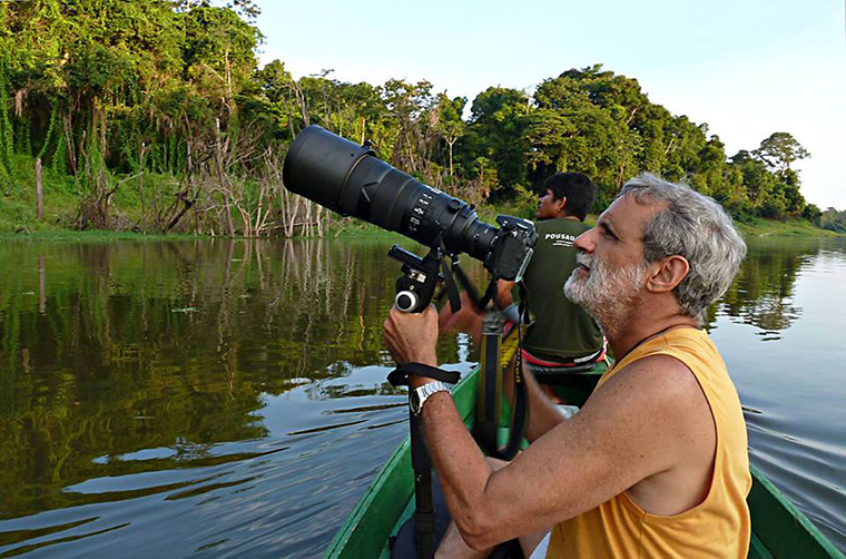Exposição em homenagem ao fotógrafo e ambientalista Marigo