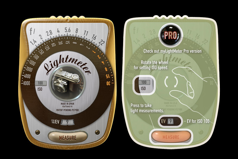 LightMeter: fotômetro para celular