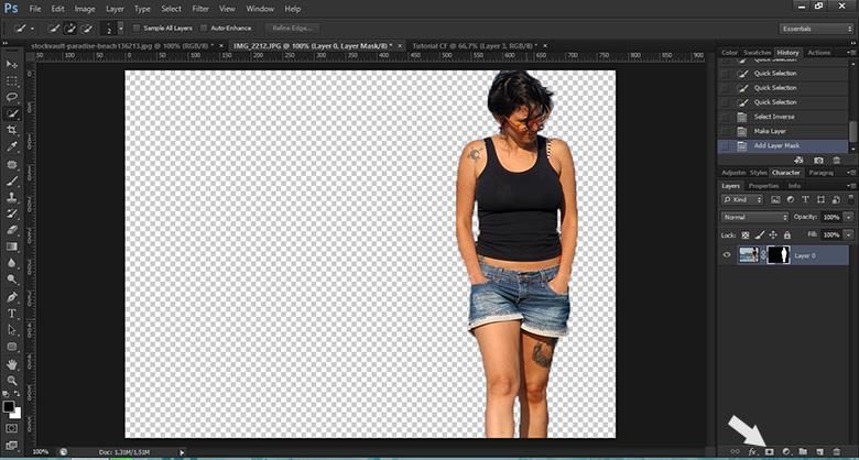 Como remover o fundo da imagem no Photoshop