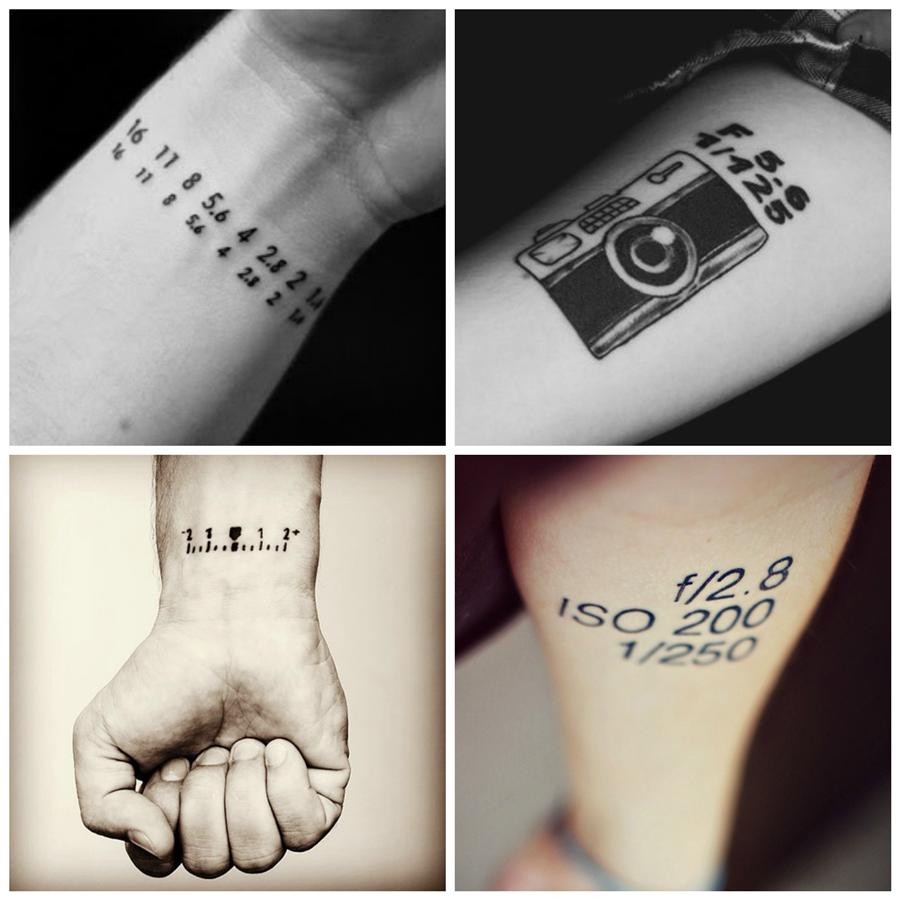 Tatuagens para quem ama fotografia